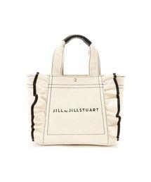 d63fa8f0928d JILL by JILLSTUART(ジルバイジルスチュアート)の「◇フリルキャンバストートバッグ(
