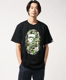 A BATHING APE(アベイシングエイプ)のABC CAMO BIG APE HEAD TEE M(Tシャツ/カットソー)