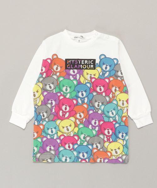 BEAR CARNIVAL pt ビッグTシャツ【XS/S/M】