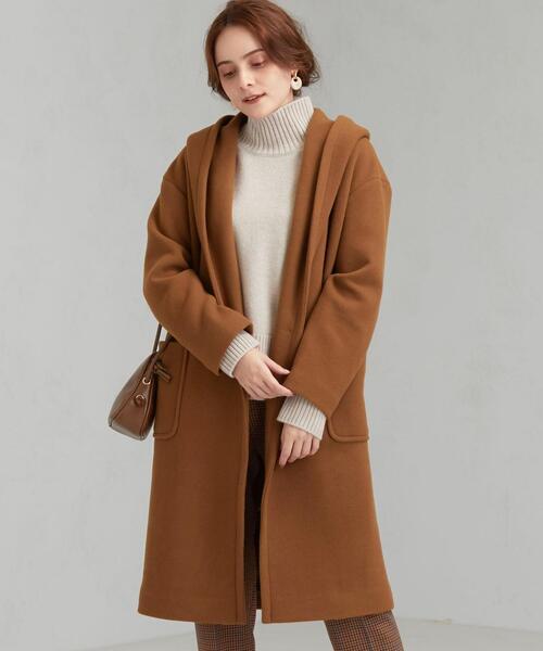 ◆SC LA TORRE フード ロング コート