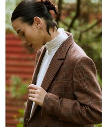 FM メリーノ ダブル ブレスト ジャケット