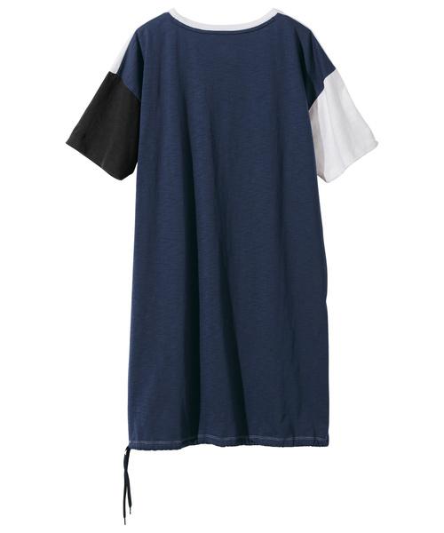 <ニューバランス>ロングTシャツ