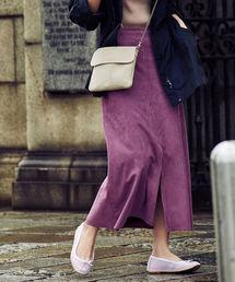 Demi-Luxe BEAMS(デミルクス ビームス)の【CLASSY.3月号掲載】Demi-Luxe BEAMS / エコスエードスカート(スカート)