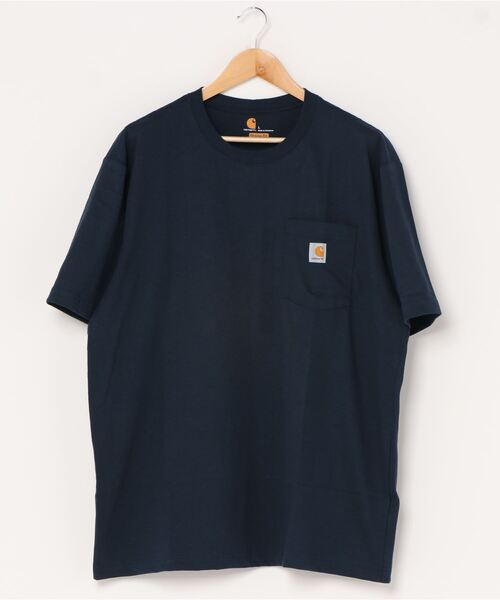 【 carhartt / カーハート 】 ワーカー ポケットTシャツ 半袖 Worker Pocket SS Tshirt K87