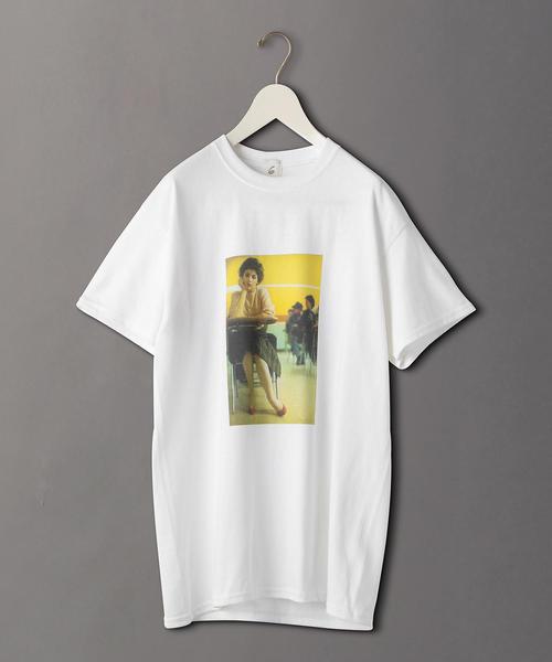 <6(ROKU)>TWIN PEAKS AUDREY HORNE PHOTO T-SHIRT/Tシャツ