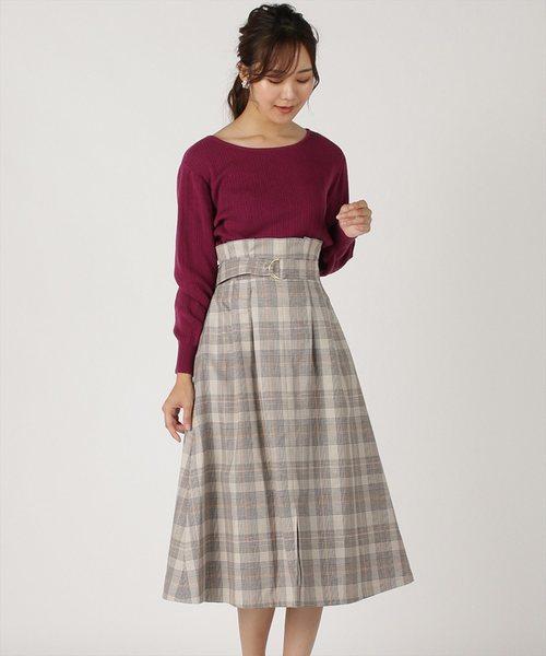 【大放出セール】 ベスト付きセミフレアースカート(スカート)|Swingle(スウィングル)のファッション通販, 熱販売:e921d989 --- innorec.de