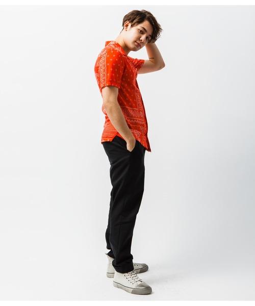 ALLSAINTS(オールセインツ)の「CHERITO SHORT SLEEVE SHIRT | チェリト 半袖 シャツ(シャツ/ブラウス)」|詳細画像