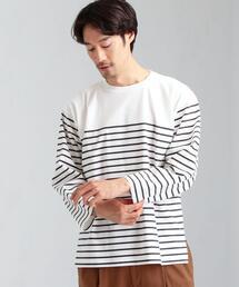 home [ Livelihood ] バスク 無地 & ボーダー Tee ロンT 長袖 Tシャツ