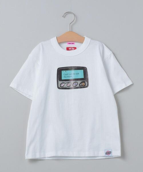 <TEG TEG  × JERRY PINK>KID'S PRINT T-SHIRT/Tシャツ