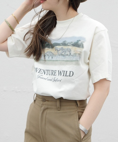 THE SHINZONE/シンゾーン アドベンチャーワイルドTEE ADVENTURE WILD TEE