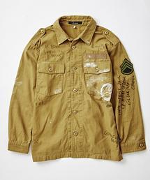 Johnbull Private labo(ジョンブルプライベートラボ)のミリタリーシャツ(シャツ/ブラウス)
