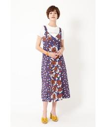 56edf4388870b JILLSTUART(Dress)(ドレス)の「◇メルフラワーキャミソールワンピース(ワンピース