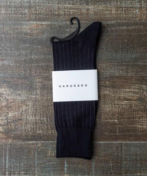 HARUSAKU(ハルサク)の「HARUSAKU Men's Classic Business Socks:ハルサク メンズクラシック ビジネス ソックス(ソックス/靴下)」|B