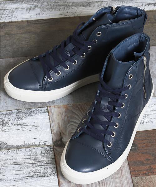 ランキング第1位 アラウンドザシューズ/around the shoes around MADE IN PORTUGAL 型押しアウトジップハイカットスニーカー(スニーカー) the around the the shoes(アラウンドザシューズ)のファッション通販, 大宮パークドラッグストアー:5a05b12c --- bit4mation.de