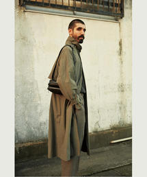 <Steven Alan> NYLON SPRING  BAL COLLAR COAT-BOLD/コート