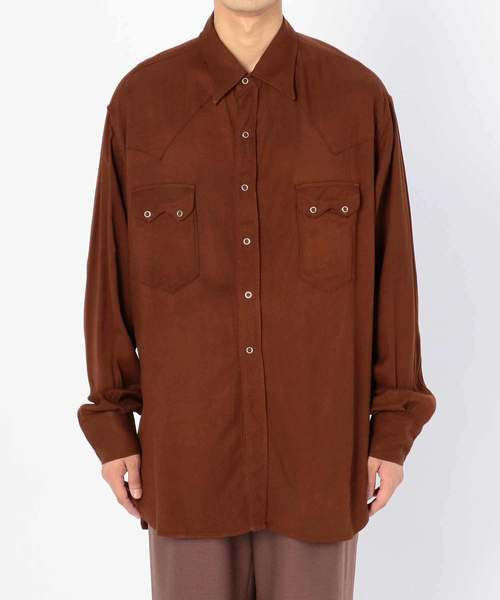 大人気定番商品 【KAPTAIN SUNSHINE】カウボーイシャツ MEN, 栗原郡 2dc97c1a