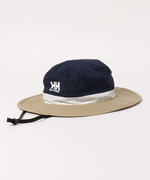 HELLY HANSEN(ヘリーハンセン)の「HOCJ92015/Tri Fielder Hat//帽子 UVカット(ハット)」|ベージュ