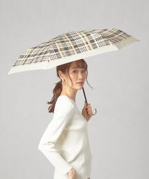 <Wpc.(ダブリュピーシー)>トラッドチェック 折りたたみ傘