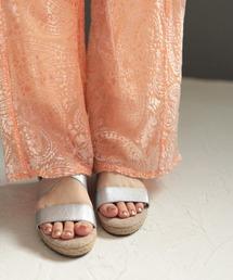 a1aba4326801ba レディースのサンダル(シルバー/銀色系・ウエッジ)ファッション通販 ...
