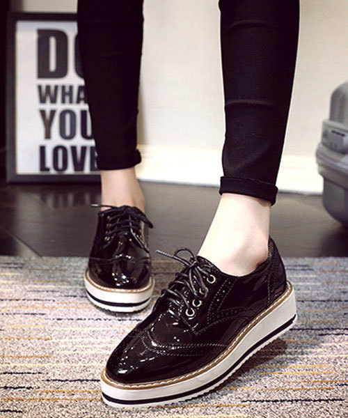 classicalelf(クラシカルエルフ)のオックスフォードシューズ 厚底靴(ローファー)