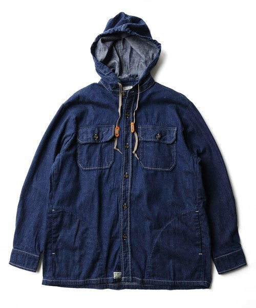 無料配達 orSlow HOODED FREAK