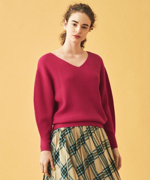 2019新作モデル リンクスウール Vネックプルオーバー(ニット/セーター)|TOMORROWLAND(トゥモローランド)のファッション通販, きものSHOP えりしょう:f1e5a81e --- 5613dcaibao.eu.org