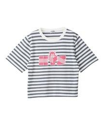 HYS BEAR ショートTシャツホワイト