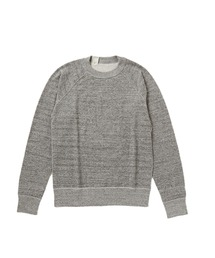 CREW NECK SWEATトップグレー