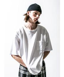 <CALUX × monkey time> 1POCKET TEE/Tシャツ