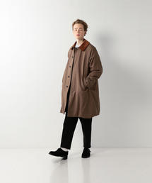 <Steven Alan> C/W GUN CLUB CHECK 3WY BAL COLLAR COAT/コート