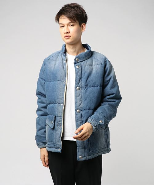 【HOUSTON】DENIM DOWN JACKET
