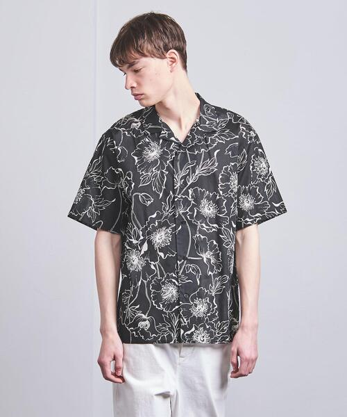 <VALET(バレット)> プリント オーバーサイズ  ショートスリーブ シャツ