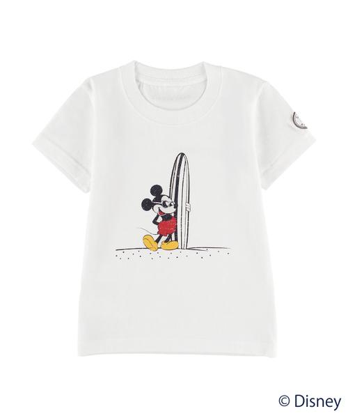 Disney(ディズニー)【ALEXIA STAM】Kids Surf Mickey Tee