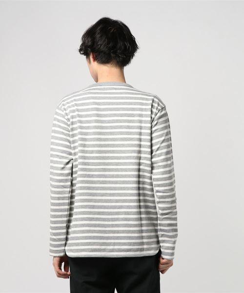 【Drole&FUN】ナローボーダー Tシャツ