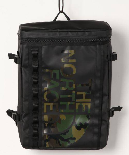 THE NORTH FACE(ザノースフェイス)の「THE NORTH FACE NOVELTY BC FUSE BOX (ウッドカモプリント)(バックパック/リュック)」|ブラック