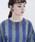 THEATRE PRODUCTS(シアタープロダクツ)の「サッカーストライプ プルオーバー(シャツ/ブラウス)」|詳細画像