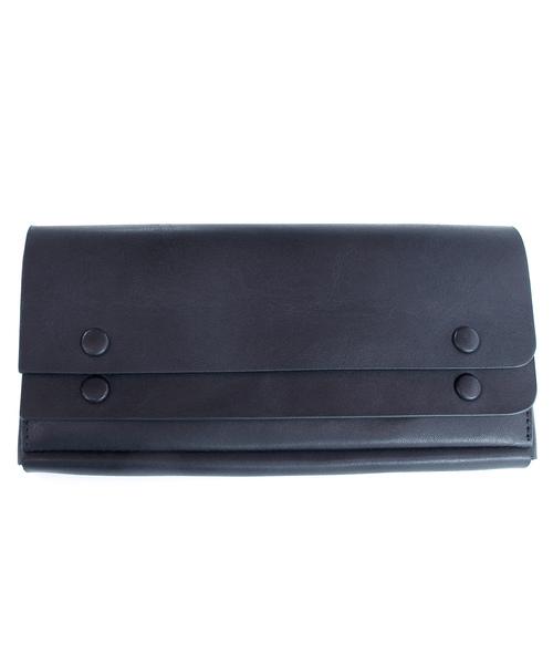 SAZABY(サザビー)の「【PLUS LINE】UOG-03/長財布(財布)」|ネイビー