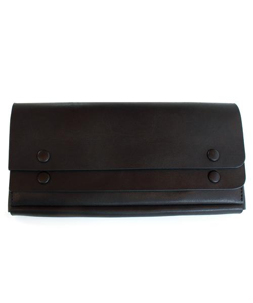 SAZABY(サザビー)の「【PLUS LINE】UOG-03/長財布(財布)」 ブラック
