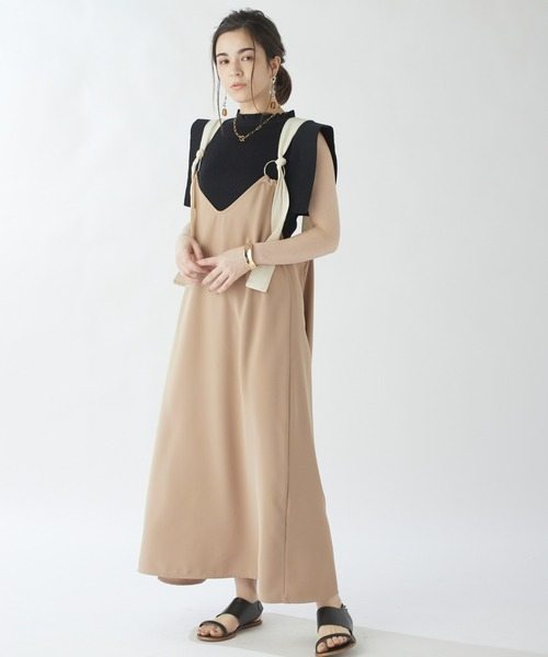 【ROSIEE】リング使いジャンパースカート