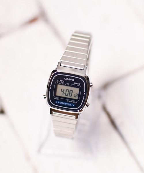 CASIO(カシオ)の「CASIO(カシオ)/デジタルミニ 腕時計(デジタル腕時計)」 シルバー