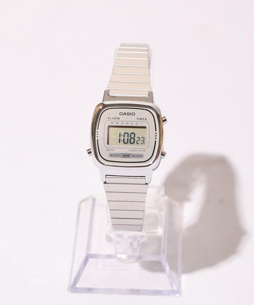 CASIO(カシオ)の「CASIO(カシオ)/デジタルミニ 腕時計(デジタル腕時計)」 シルバー系その他2