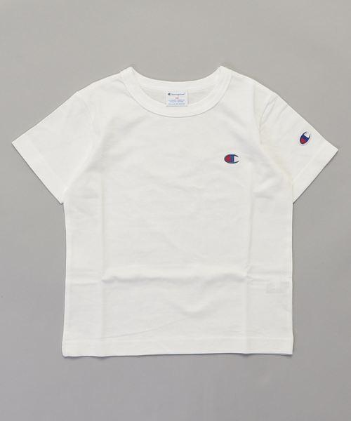 【CHAMPION】ワンポイントTシャツ
