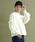 merlot(メルロー)の「袖フリルニットプルオーバー2122(ニット/セーター)」|ホワイト