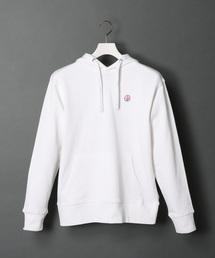 AMERICAN RAG CIE(アメリカンラグ シー)のAMERICAN RAG CIE ARC Stencil Logo Print Hooded Sweatshirt/アメリカンラグシー ARCステンシルロゴプリントフードパーカ(パーカー)