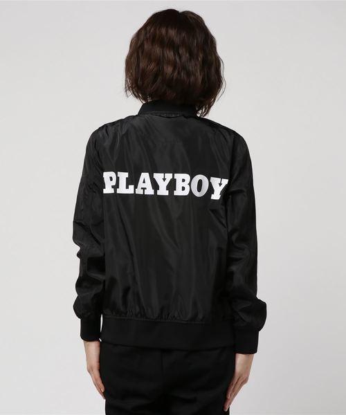 [ PLAYBOY / プレイボーイ ] BIG シルエット MA-!