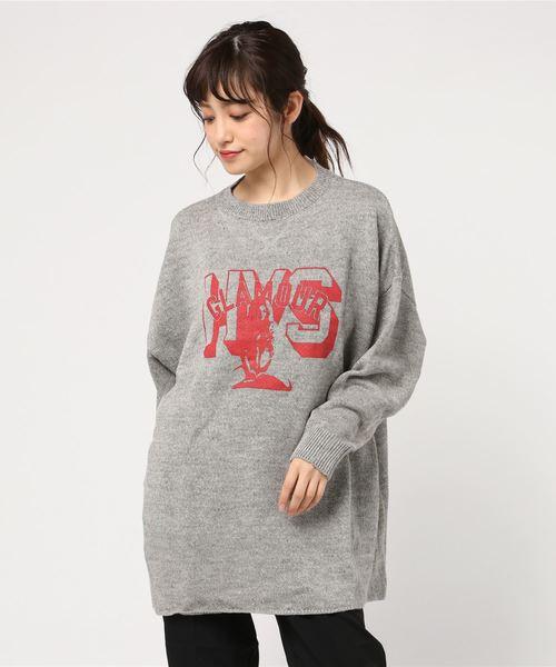 【信頼】 HYS COLLEGE pt COLLEGE BIGプルオーバー(ニット/セーター)|HYSTERIC GLAMOUR(ヒステリックグラマー)のファッション通販, ミタケムラ:5bb3c4bf --- blog.buypower.ng