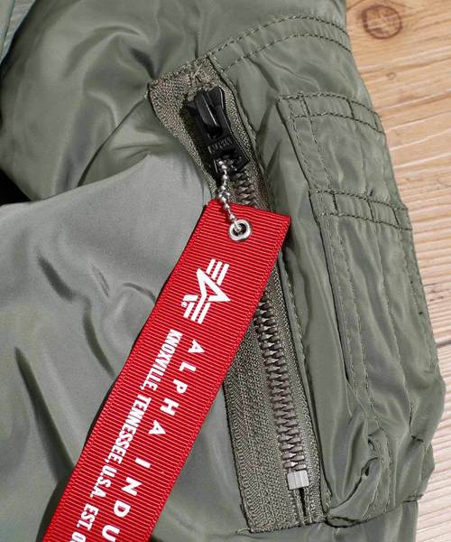 ALPHA/ アルファ BONDING L-2B ボンディング ジャケット TA1370