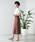 WEGO(ウィゴー)の「WEGO/リネンブレンドボタンナロースカート(スカート)」|詳細画像