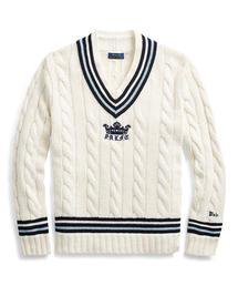 POLO RALPH LAUREN(ポロラルフローレン)のコットンブレンド クリケット セーター(ニット/セーター)
