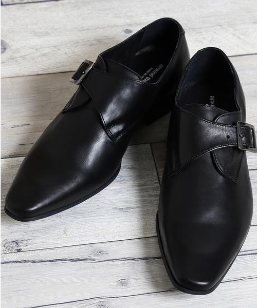 大特価 【セール IN】アラウンドザシューズ/around PORTUGAL the shoes MADE IN PORTUGAL シングルモンクドレスシューズ(ドレスシューズ) MADE|around the shoes(アラウンドザシューズ)のファッション通販, アーネスト:30463cff --- ruspast.com